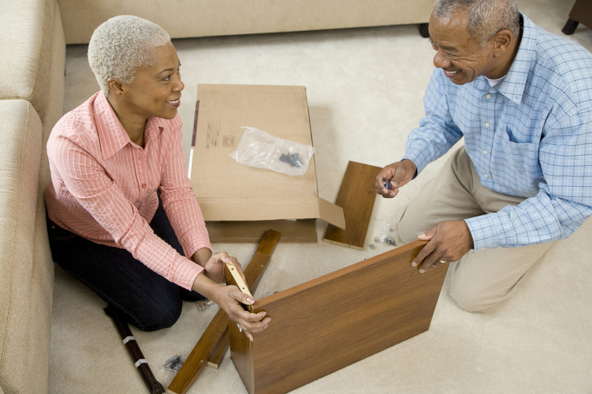 Senior Couple Downsizing their Home | Cottage Grove Place