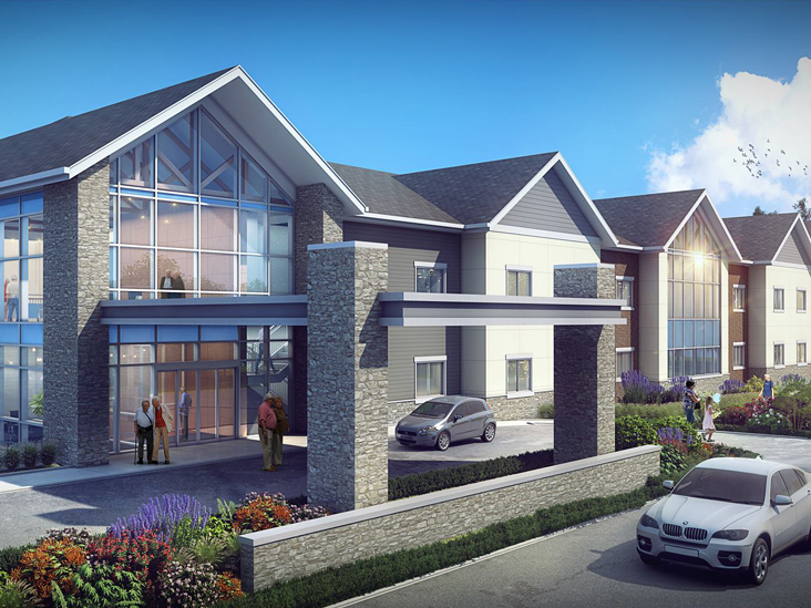 Cottage Grove Place | Rendering of New Expansion
